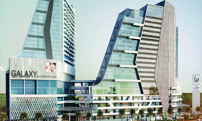 Gaur City Center Gaur Chowk(Noida Extension)