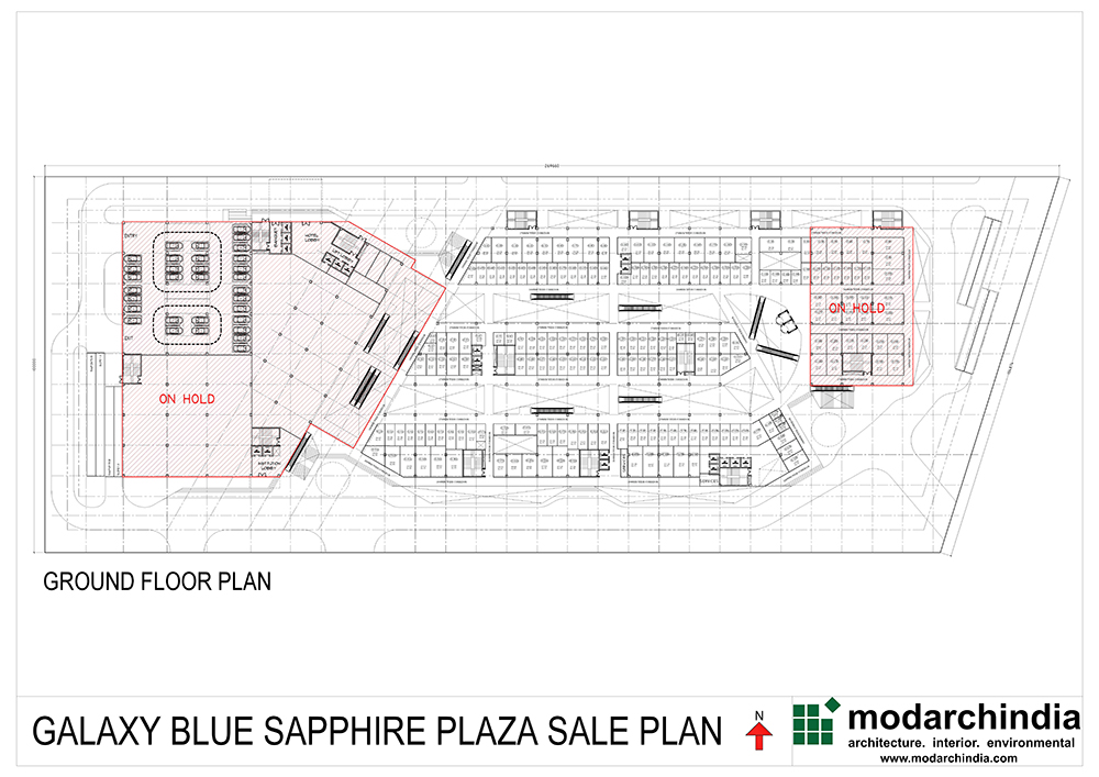 Gaur City Center Noida Sector-77floor plan