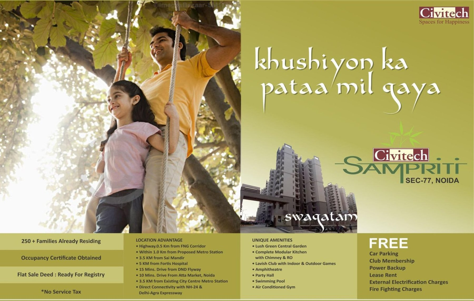 Civitech Sampriti Noida Sector-77