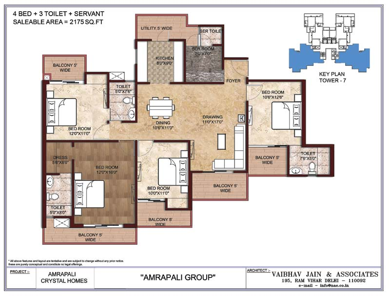 Amrapali Crystal Homes Noidafloor plan