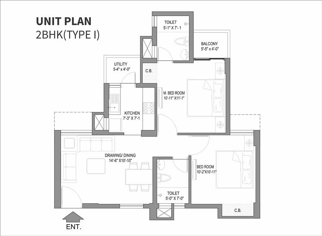 StellarOne Noida Extension floor plan
